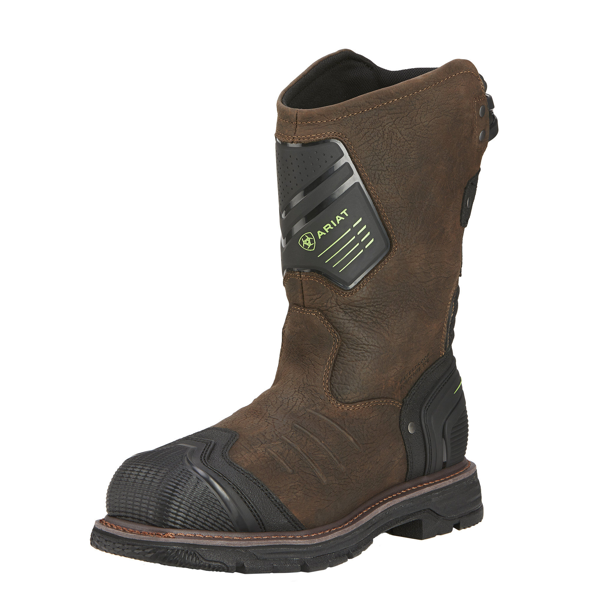 Ariat 10016253 Catalyst Vx H2O Safety Toe Pull On 10.5 EE Wellington Work Boot