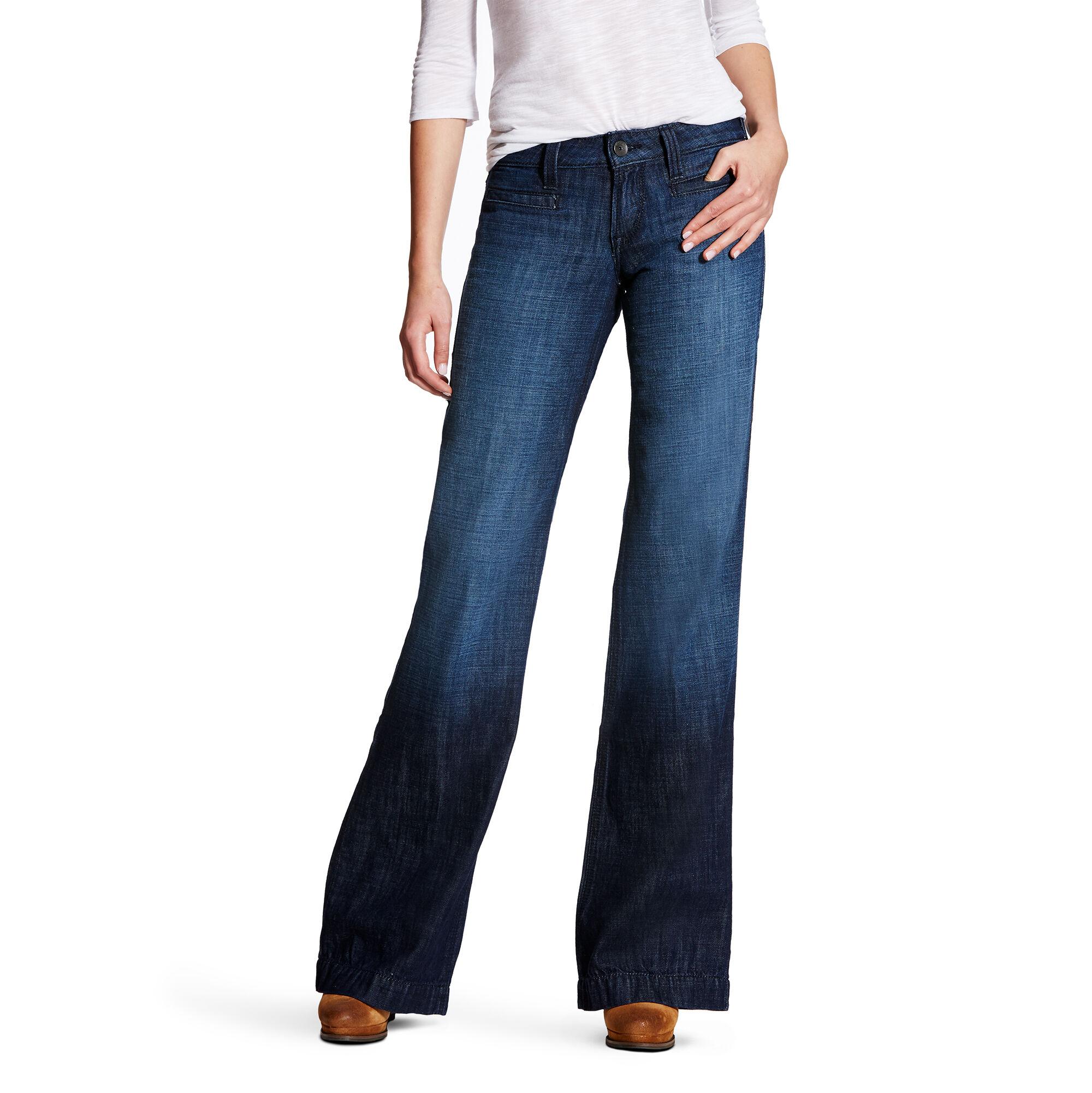 Jeans bootcut femme stretch