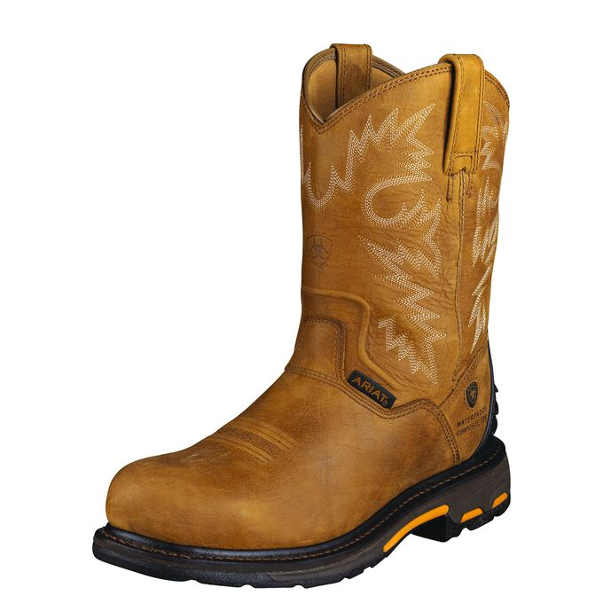 WorkHog RT Waterproof Composite Toe Work Boot