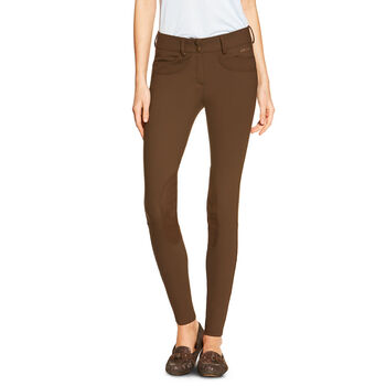Olympia Low Rise Knee Patch Front Zip Knee Patch Breech