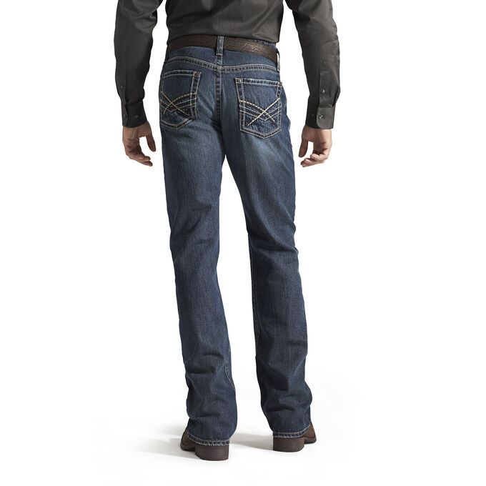 M4 Low Rise Deadrun Boot Cut Jean
