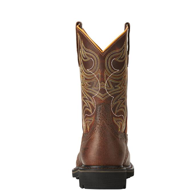 Sierra Shadowland Steel Toe Work Boot