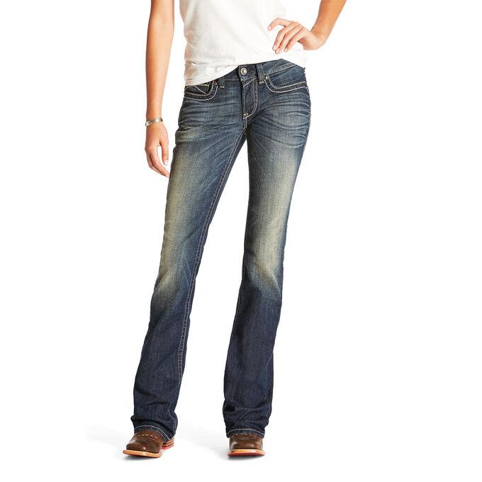 R.E.A.L Mid Rise Harlow Boot Cut Jean