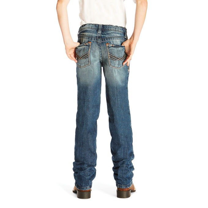 B5 Slim Davis Stackable Straight Leg Jean