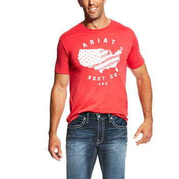 USA Boot T-Shirt