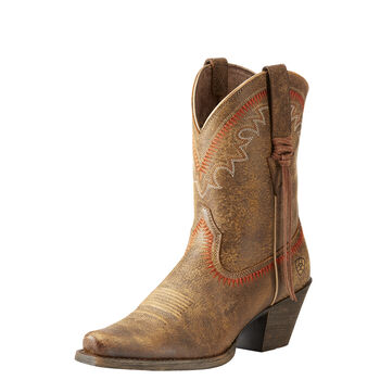 Round Up Aztec Western Boot