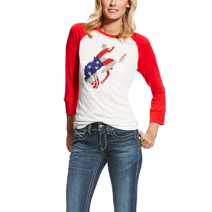 Wild West Raglan Top
