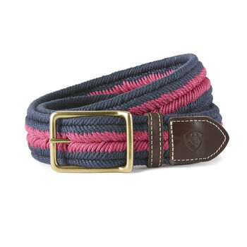 Three Rail Woven Belt