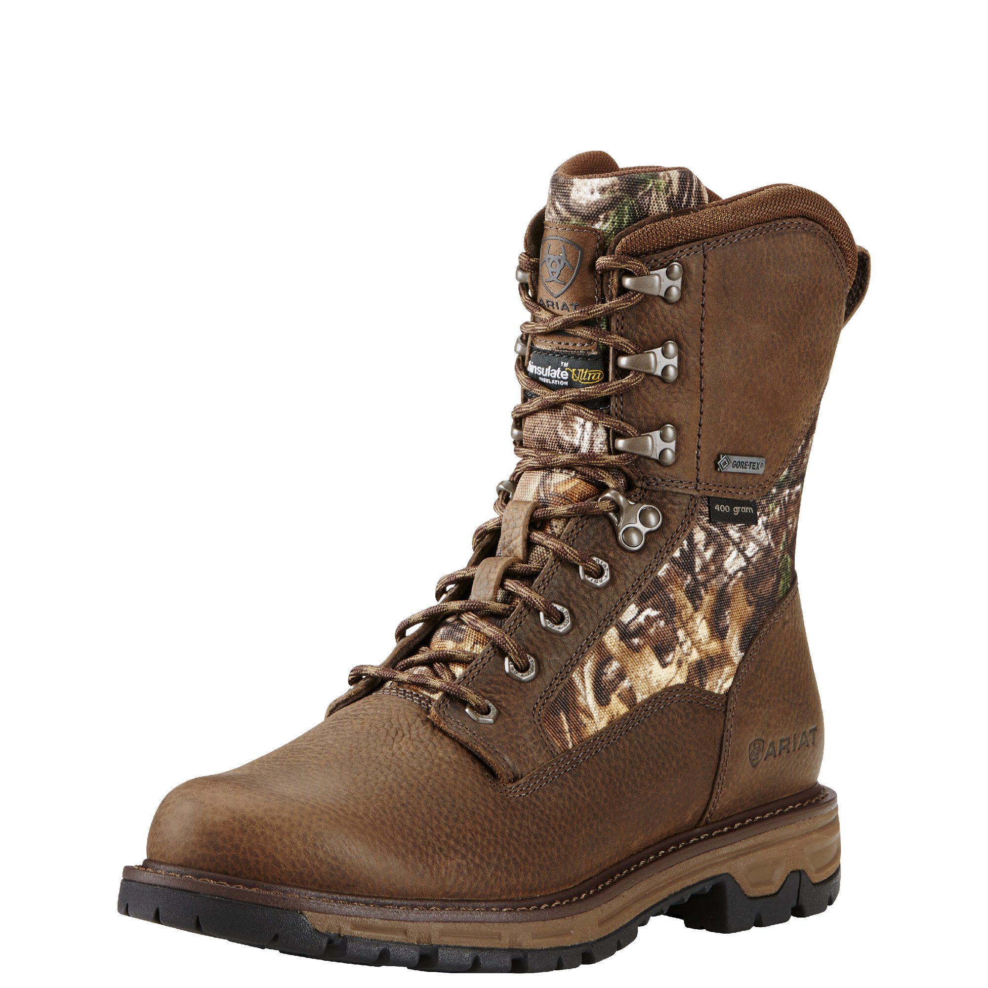 """Men's Conquest Round Toe 8"""" GTX 400g Hunting Boot"""