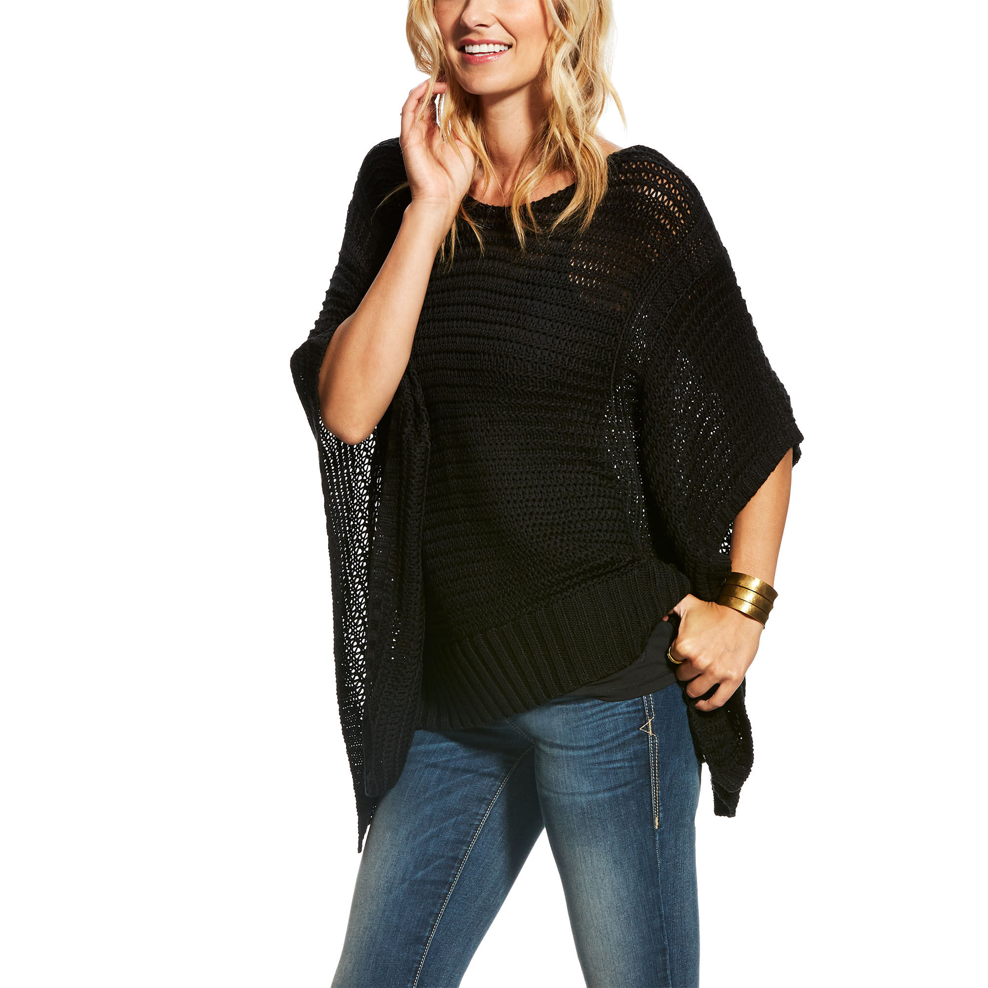 Tina Poncho Sweater