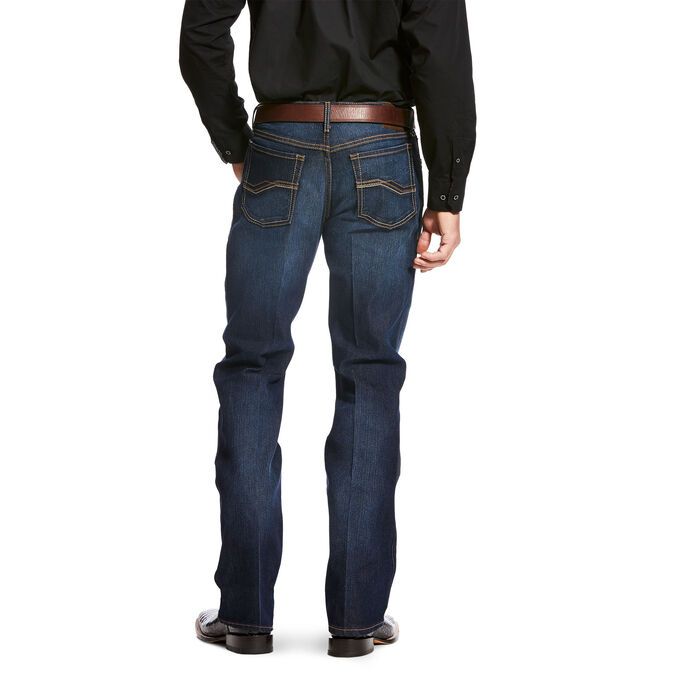 Relentless Relaxed Fit Deuces Performance Stretch Boot Cut Jean