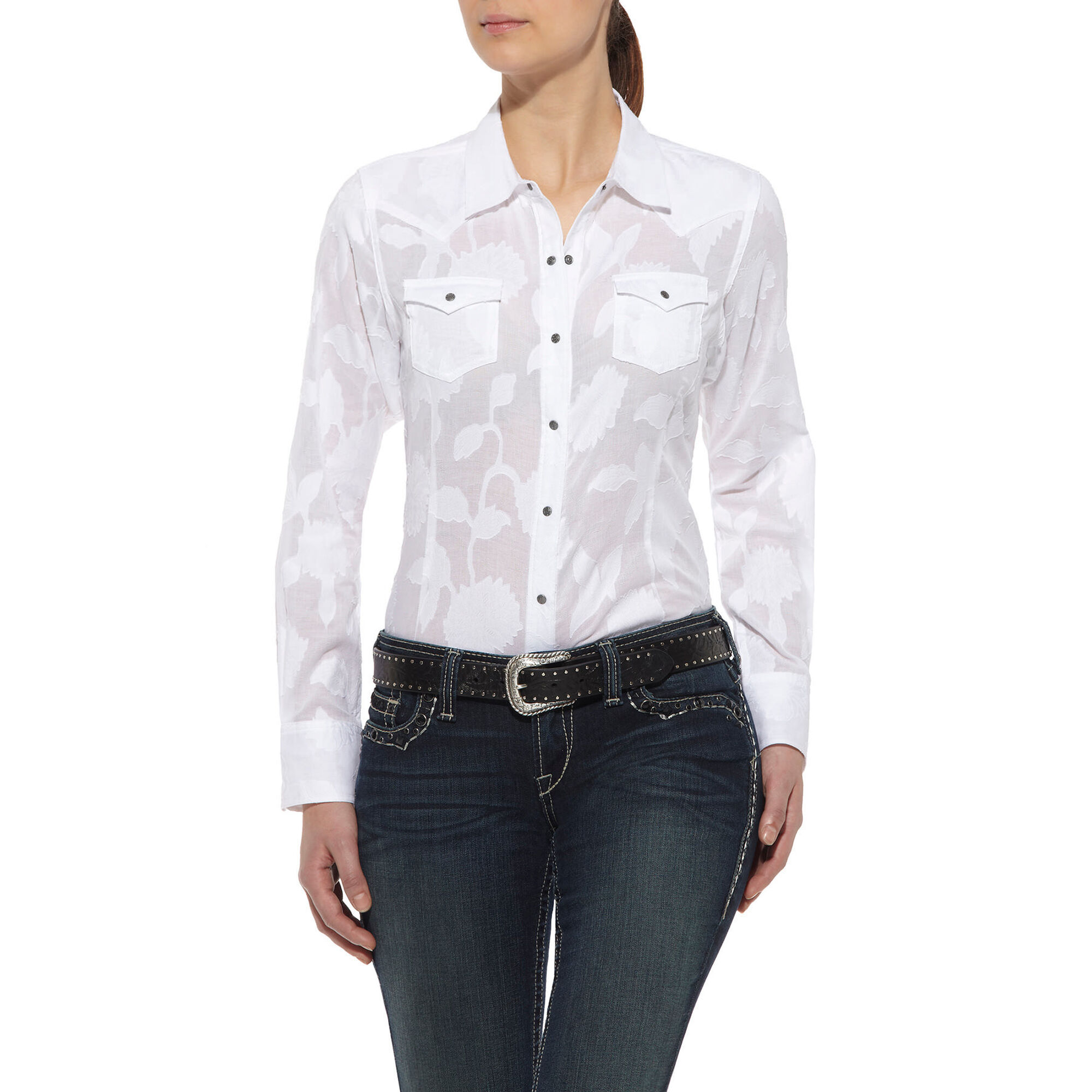 Jacquard Snap Shirt