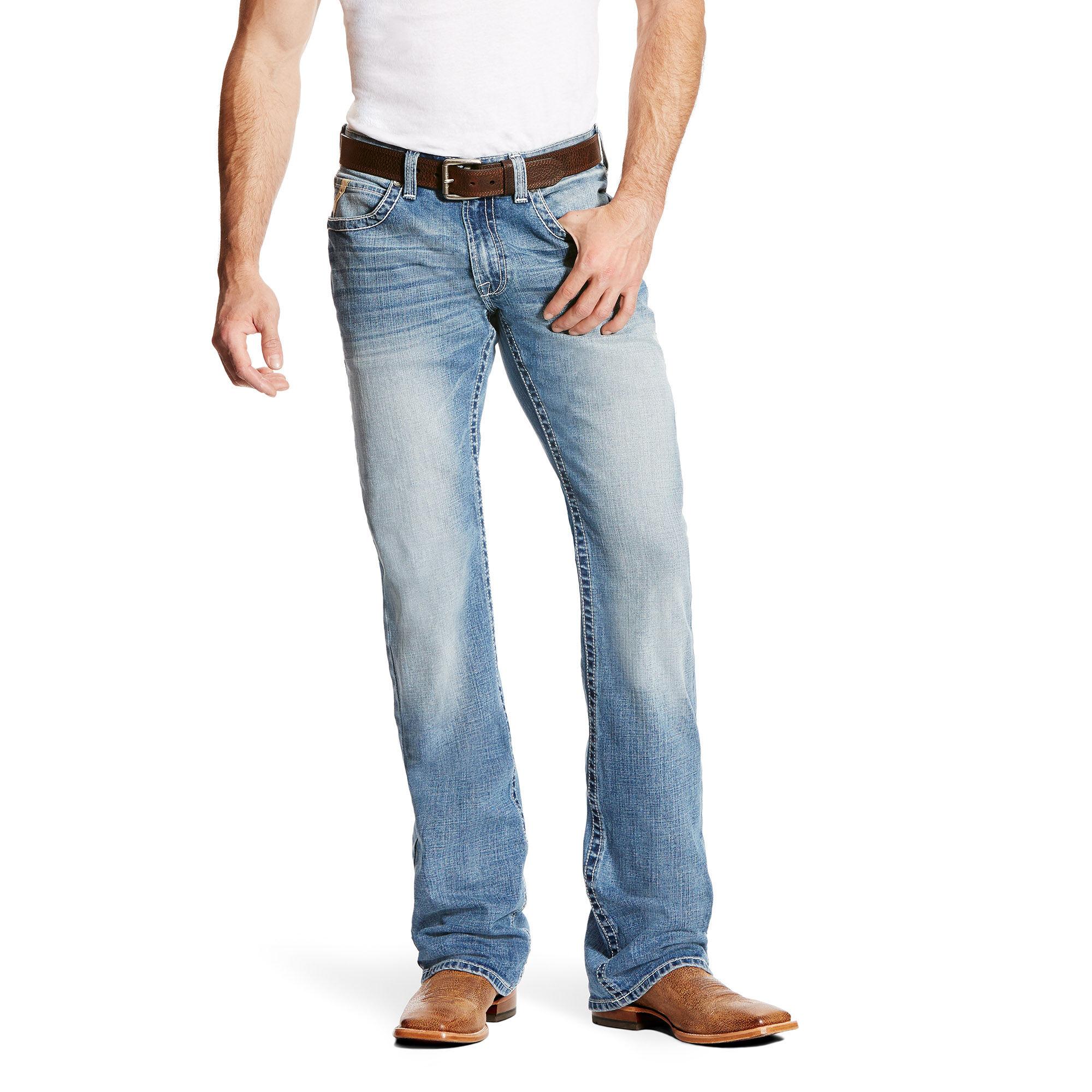 M5 Slim Blake Stretch Boot Cut Jean