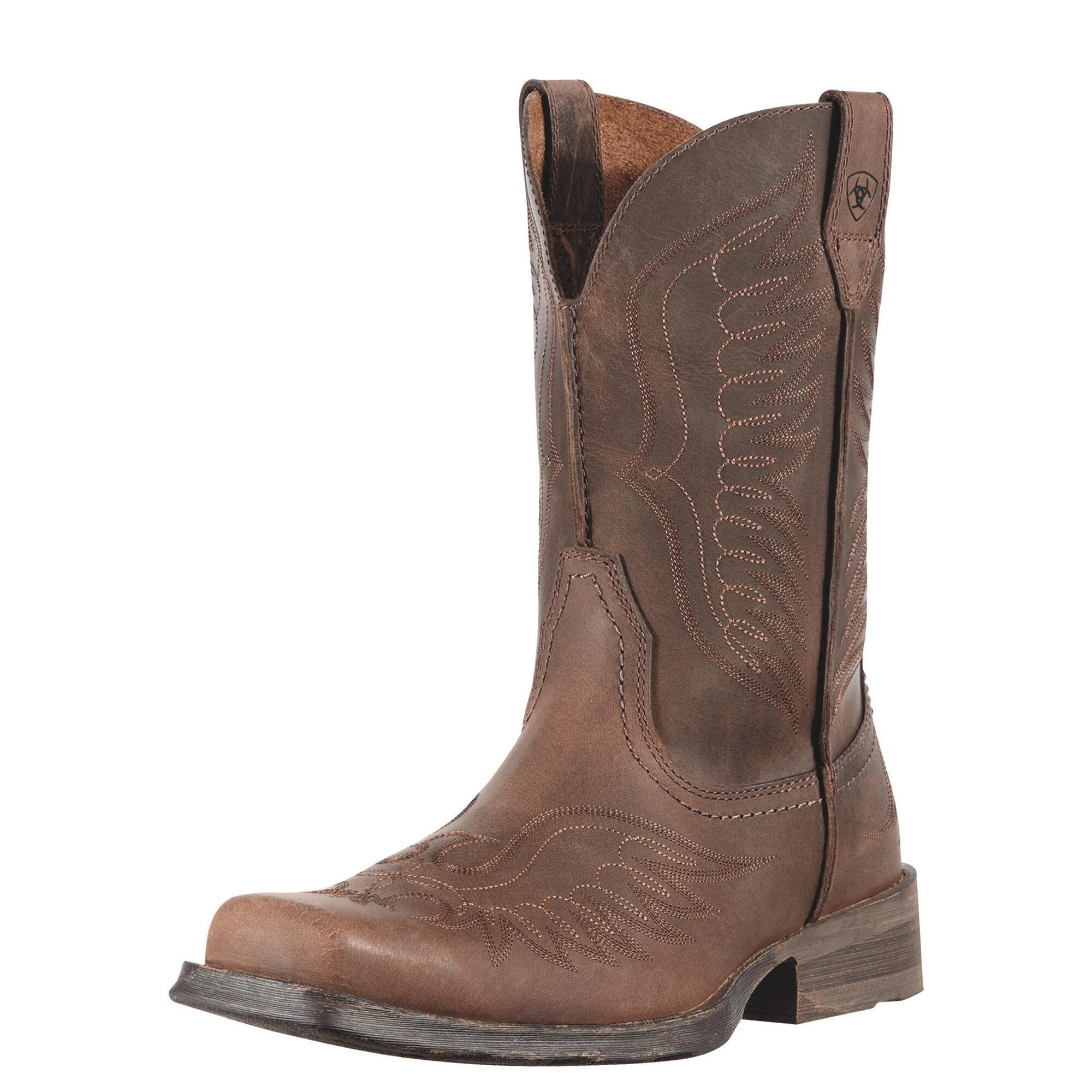 Womens Boots ariat brown rambler phoenix distressed ns6h08m7