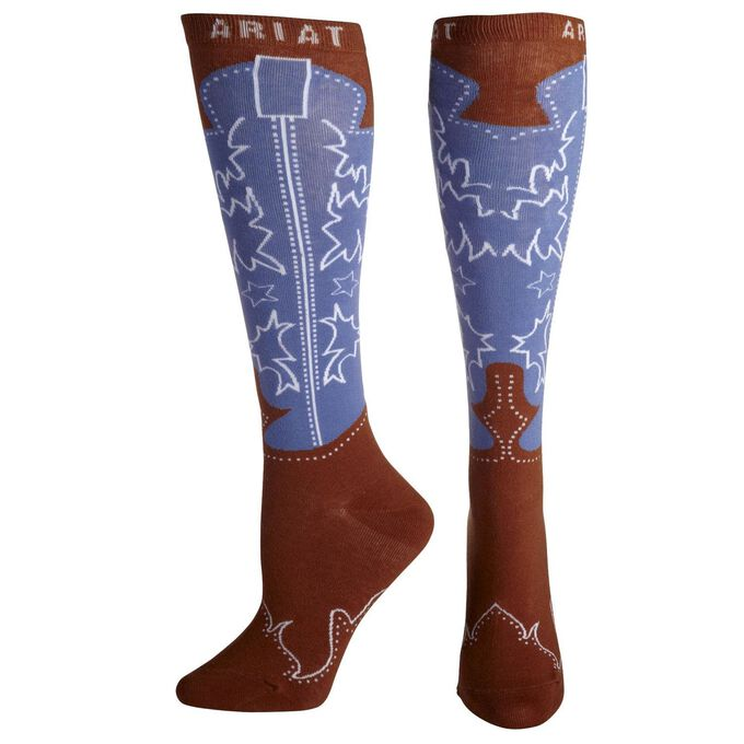 Western Boot Knee High