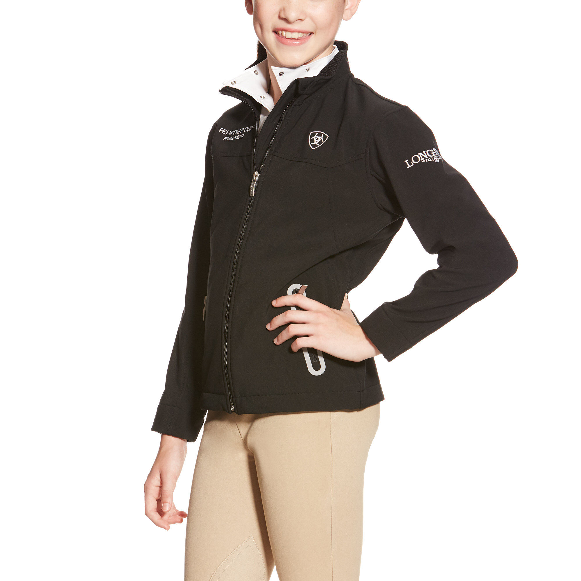 FEI World Cup Team Softshell JacketLogo Jacket
