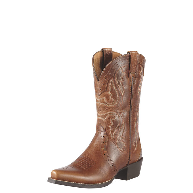 Heritage X Toe Western Boot