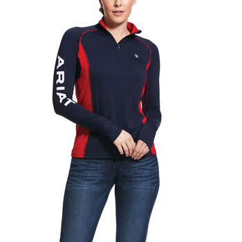 Tri Factor 1/4 Zip Top