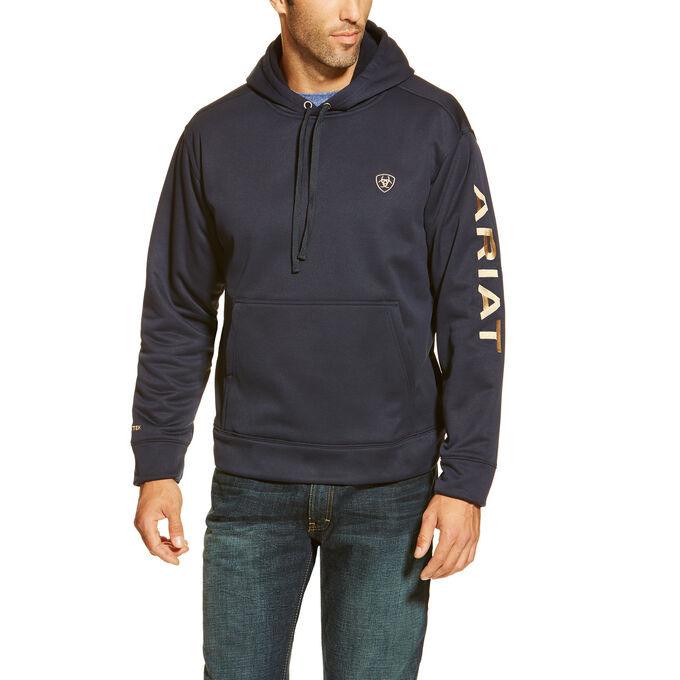 TEK Fleece Logo Hoodie