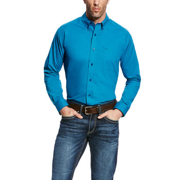 Solid Poplin Shirt