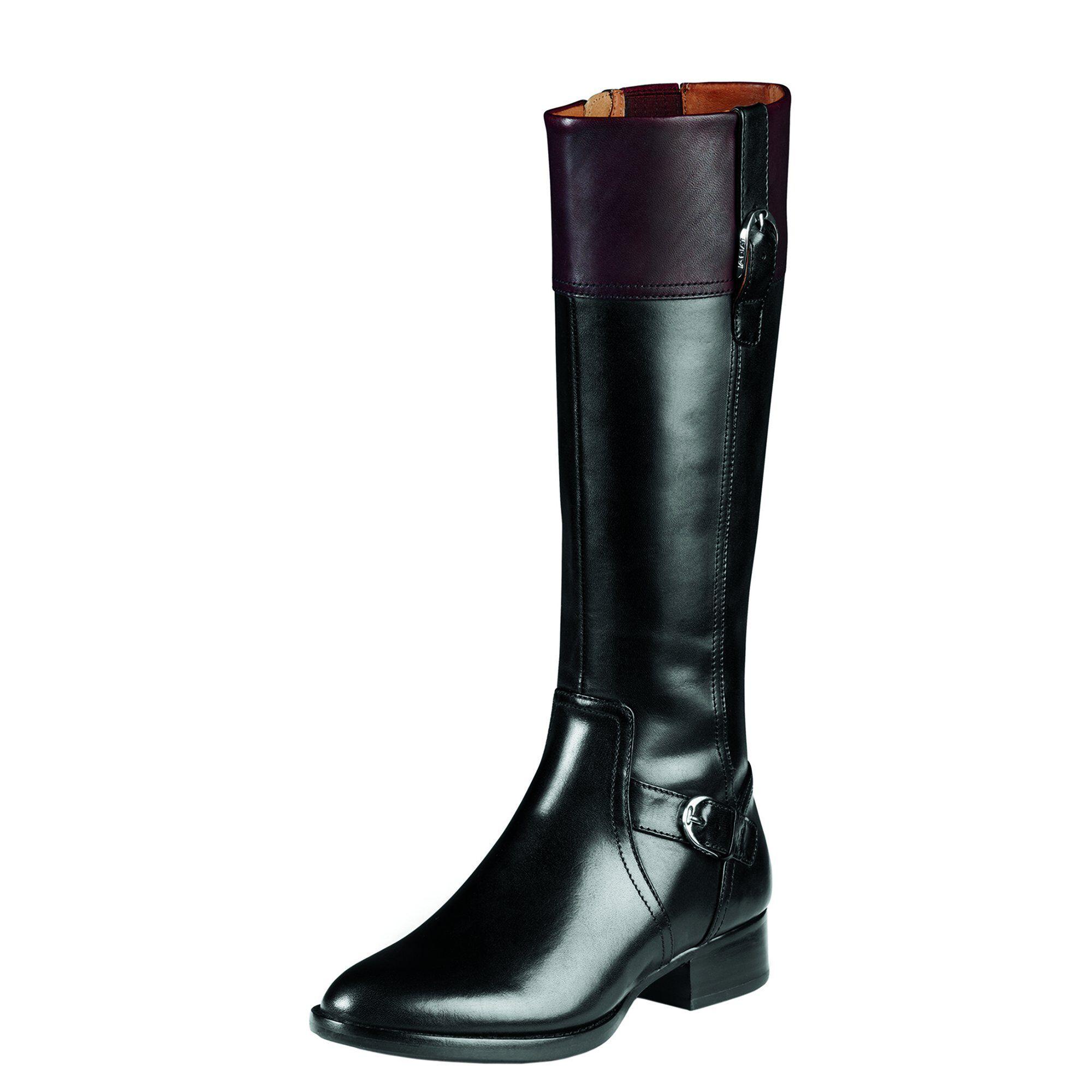Womens Boots ariat cordovan black york xq5i09g1