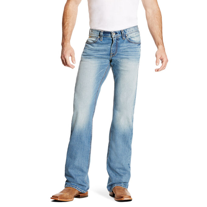 M7 Rocker Stretch Trace Boot Cut Jean