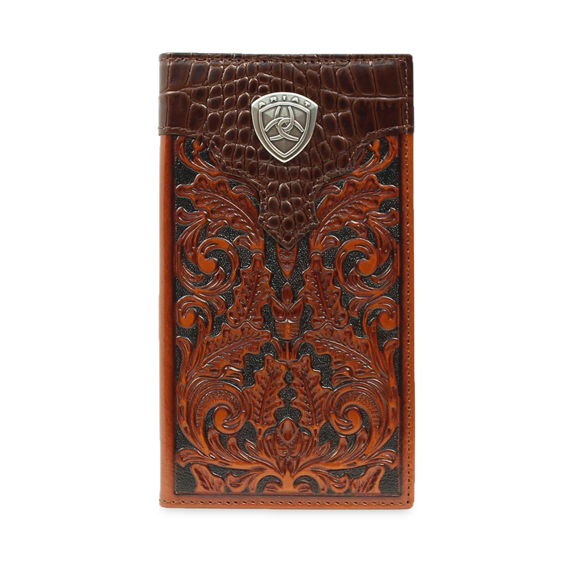 Baldwin Tooled Rodeo Wallet