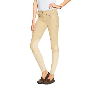 Prix Low Rise Knee Patch Front Zip Knee Patch Breech