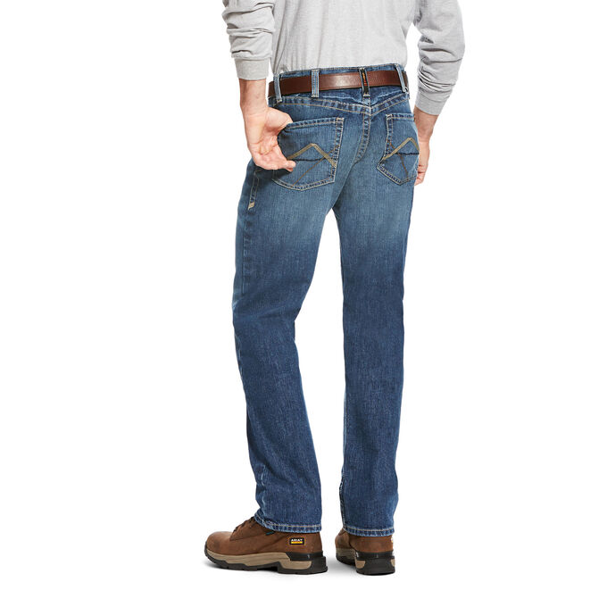 FR M3 Loose Stitched Incline Stackable Straight Leg Jean
