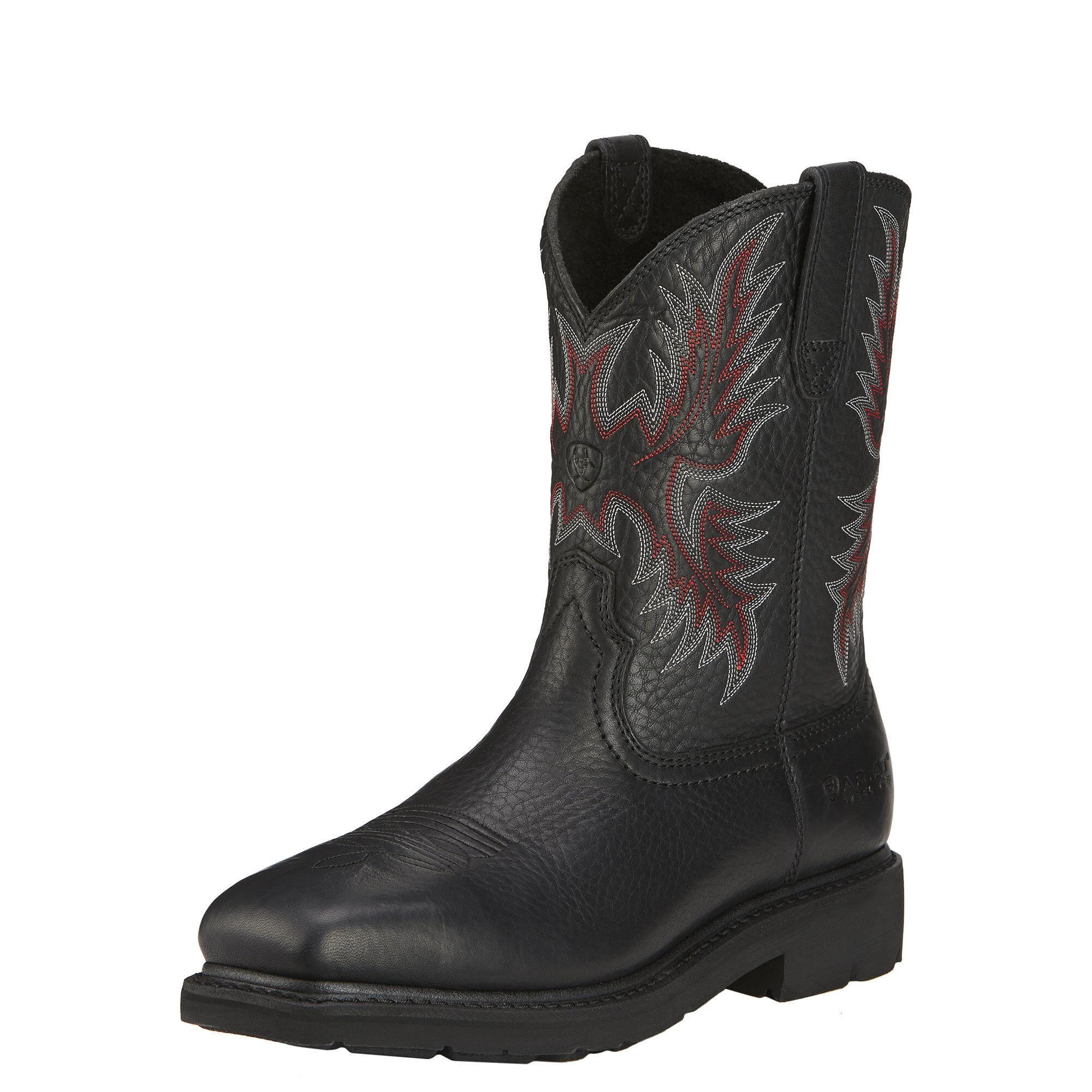 Sierra Steel Toe Work Boot