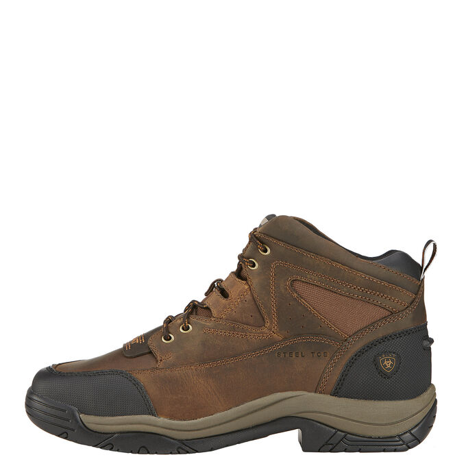 Terrain Wide Square Toe Steel Toe Work Boot