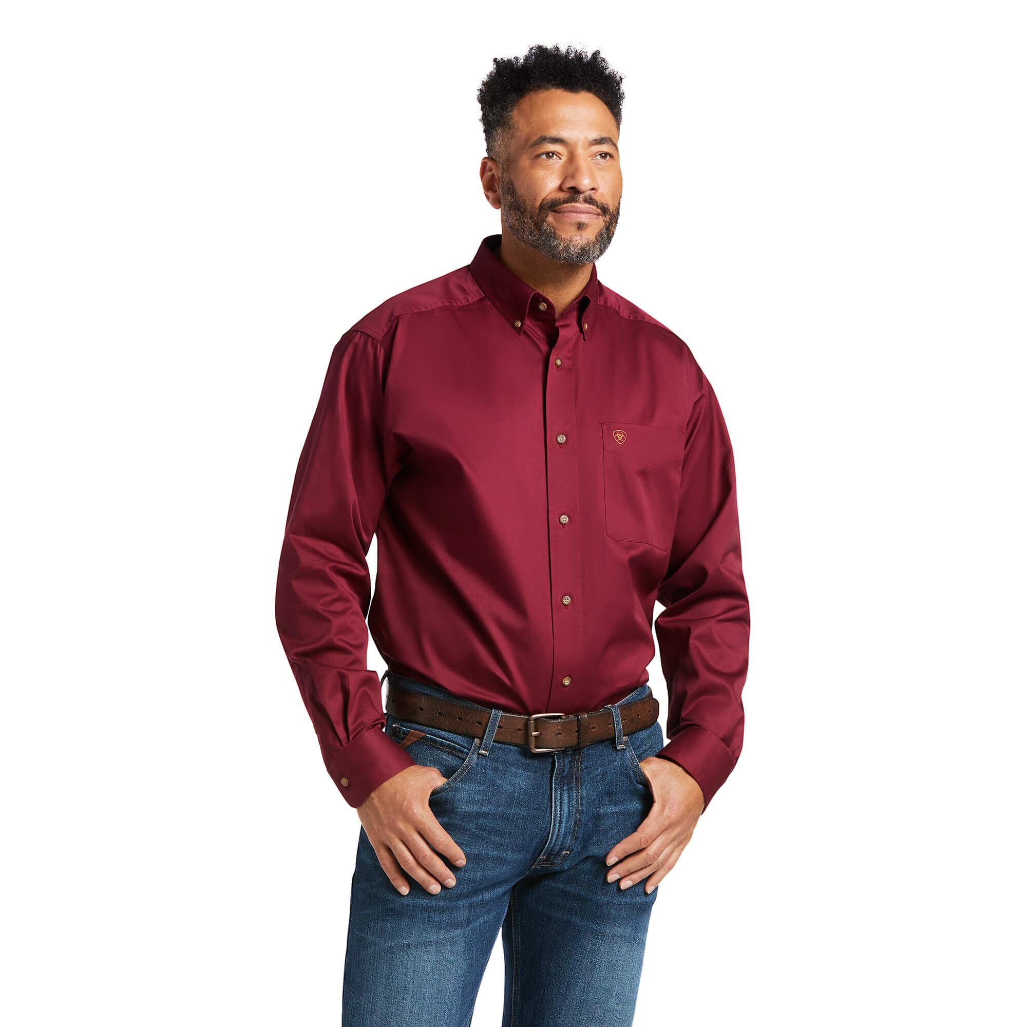 Solid Twill Shirt