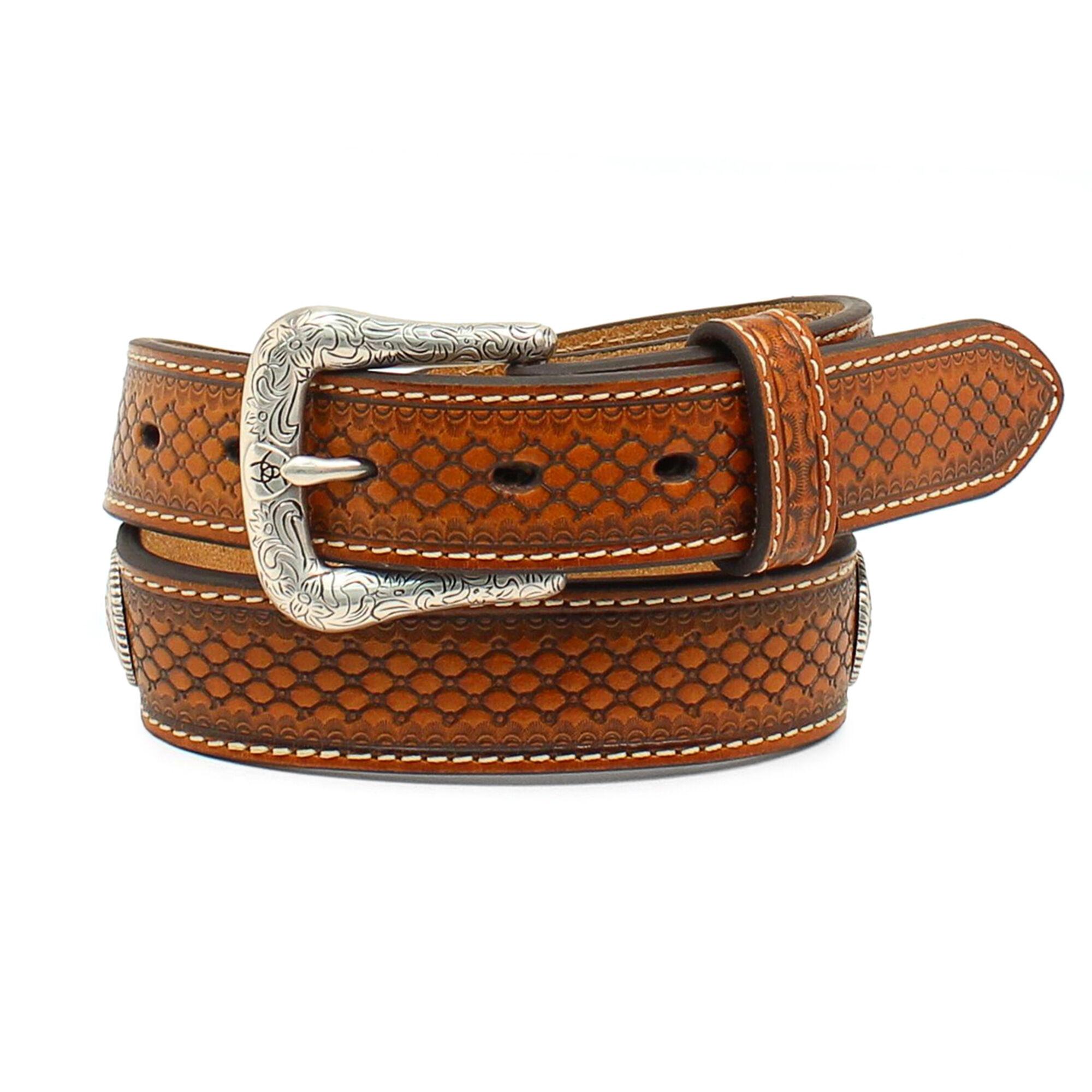 Beaded Tooled Belt