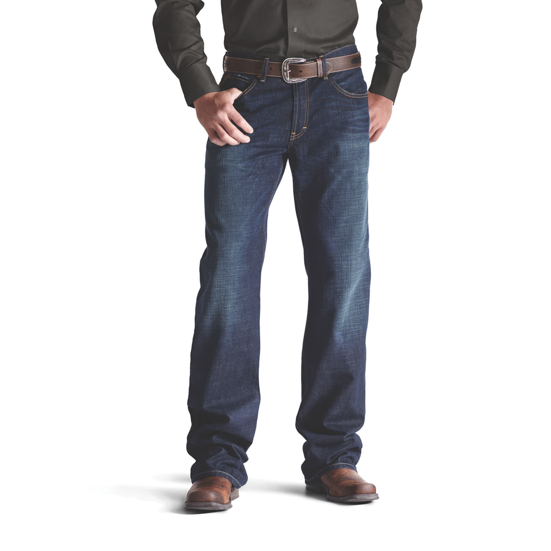 Mens loose bootcut jeans uk