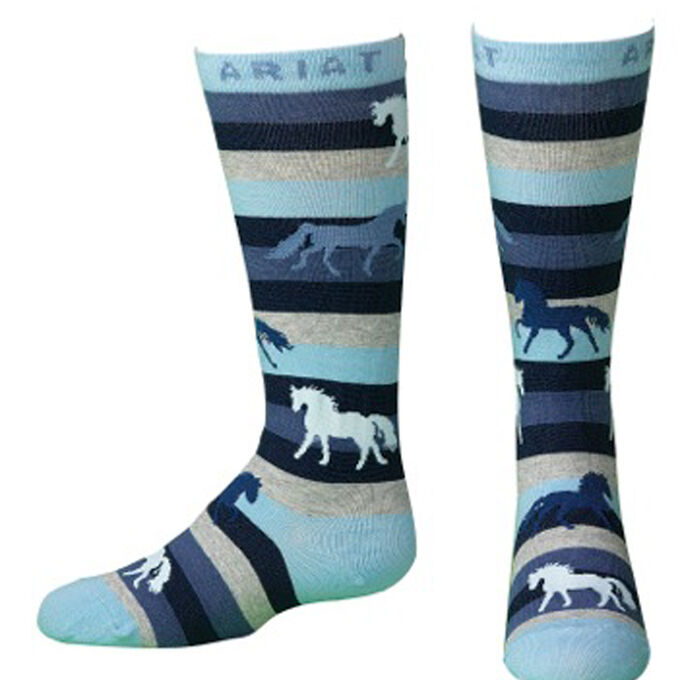 Lineage Horse Mid Calf Sock