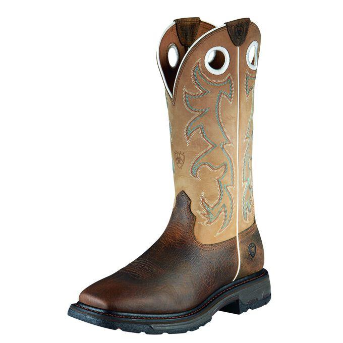 WorkHog Tall Steel Toe Work Boot