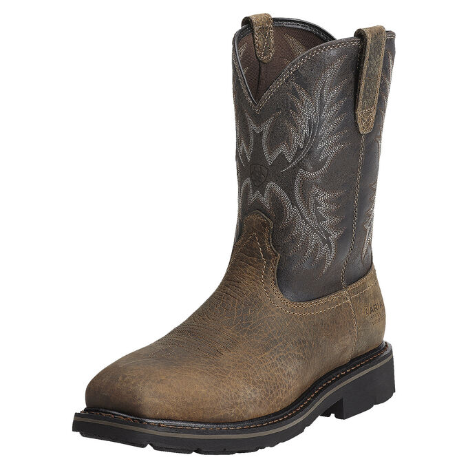 Sierra Puncture Resistant Steel Toe Work Boot