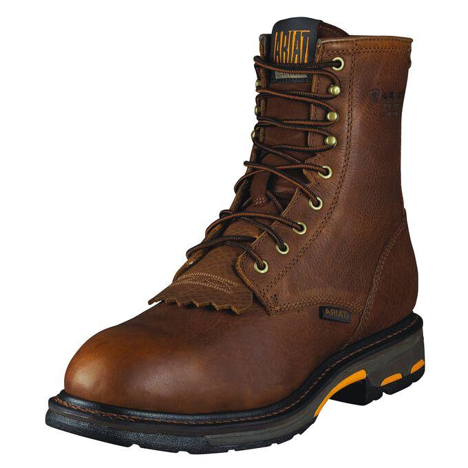 "WorkHog 8"" Waterproof Composite Toe Work Boot"