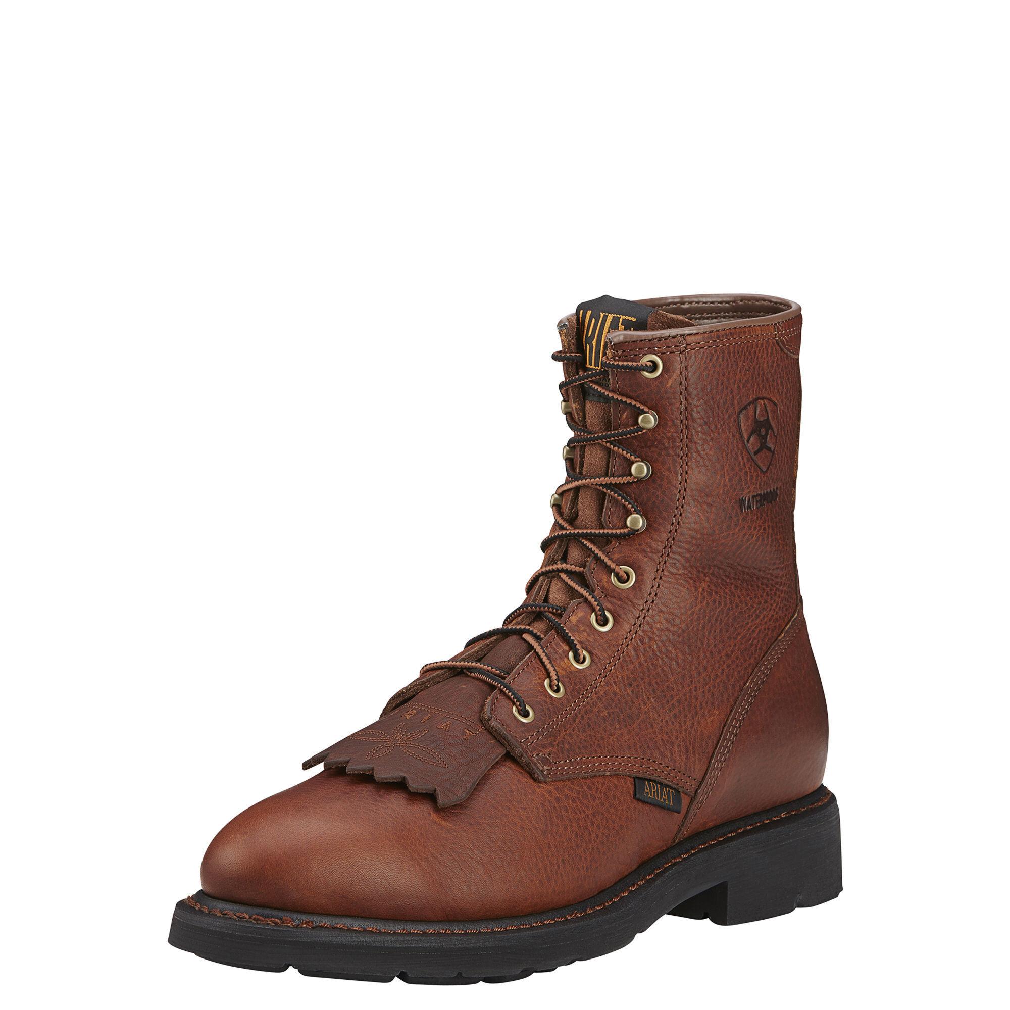 "Cascade 8"" Waterproof Work Boot"