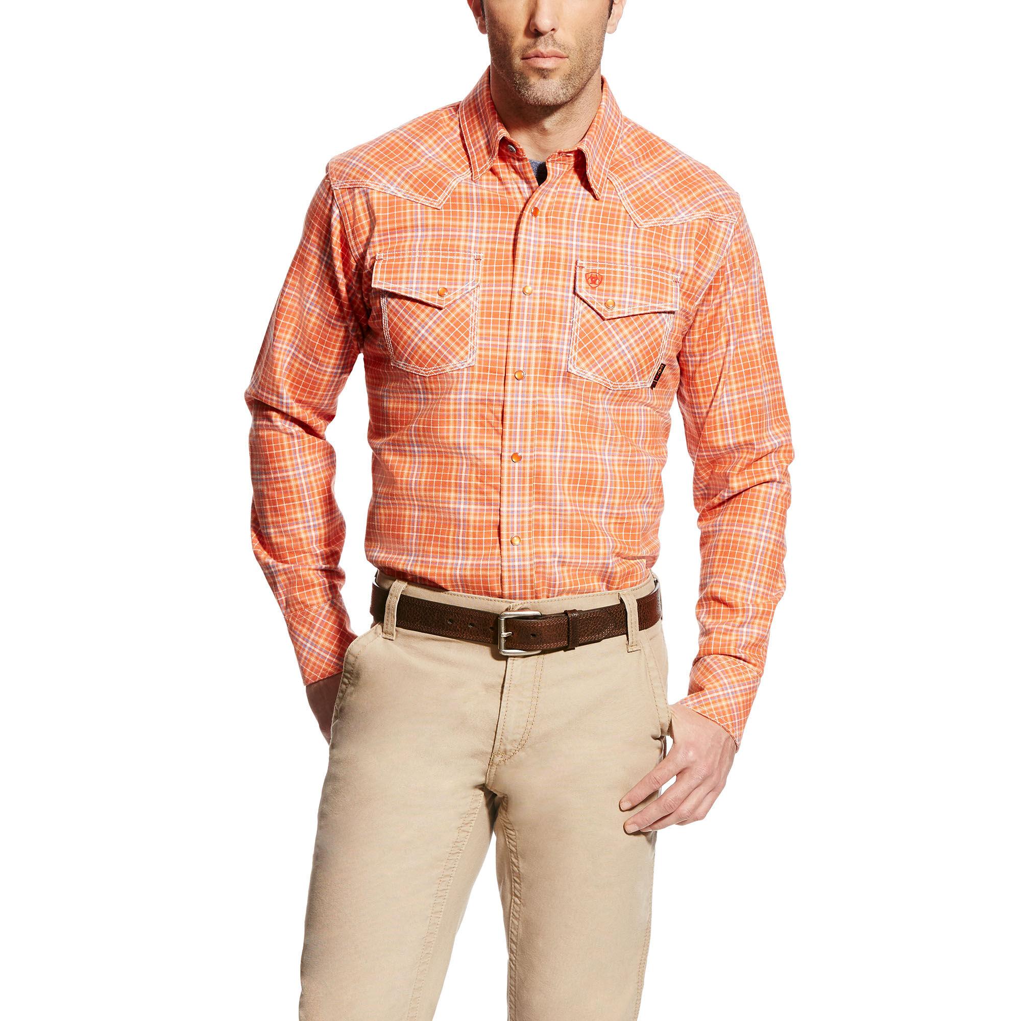FR Grant Retro Fit Work Shirt