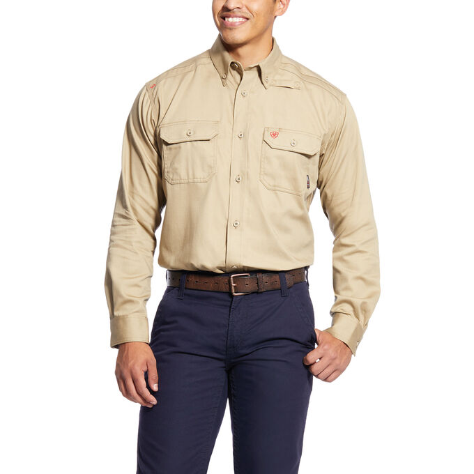 Fr Solid  Work Shirt