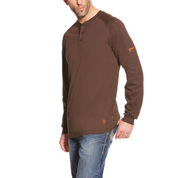 FR Henley Top