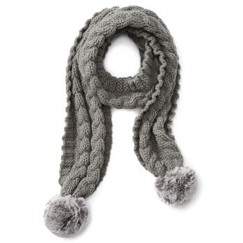 Snug Cable Scarf