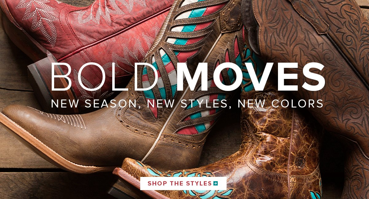 Bold Moves - New Season, New Styles, New Colors