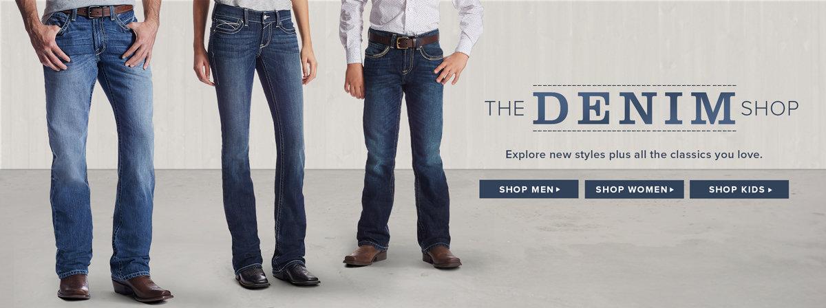 The Denim Shop - Shop Men, Women, and Kids