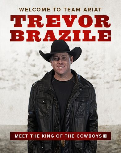 Welcome to Team Ariat - Trevor Brazile