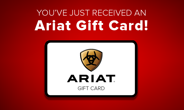 Ariat Gift Cards