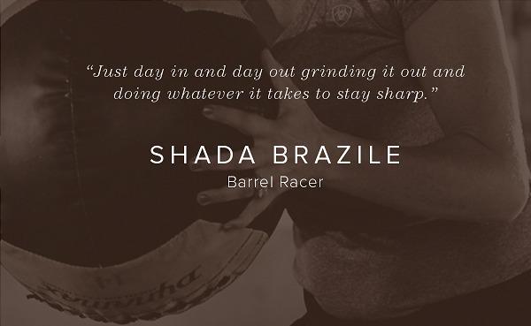 Shada Brazile - Barrel Racer