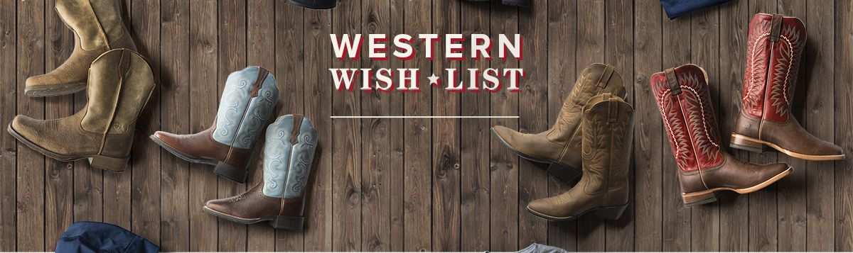 Shop Western Boot Collection
