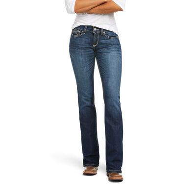 R.E.A.L. Mid Rise Janet Boot Cut Jean